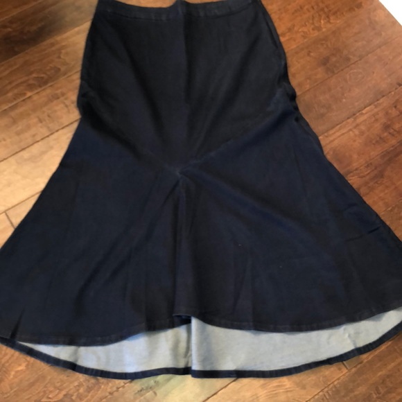 Ashley Stewart Dresses & Skirts - Ashley Stewart long denim Shirt